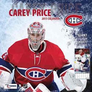 Carey Price 2017 Calendar
