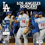 Los Angeles Dodgers 2018 12x12 Team Wall Calendar