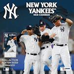 New York Yankees 2018 12x12 Team Wall Calendar