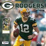 Green Bay Packers Aaron Rodgers 2018 Calendar