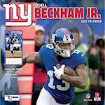 New York Giants Odell Beckham, Jr. 2018 Calendar