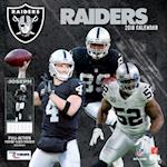 Oakland Raiders 2018 12x12 Team Wall Calendar