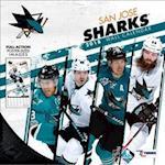 San Jose Sharks 2018 Calendar