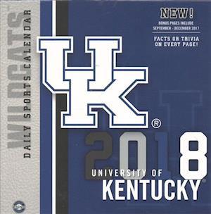 Bog, ukendt format Kentucky Wildcats 2018 Calendar