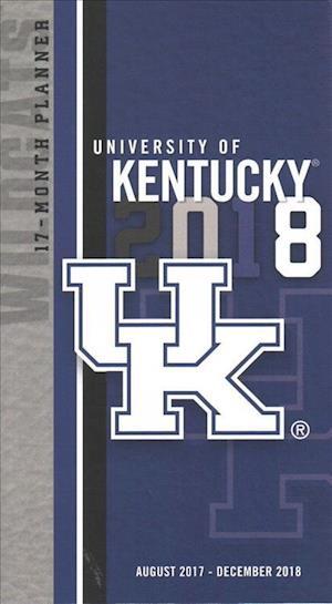 University of Kentucky 17-month Planner, 2017-18 Calendar
