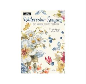 Watercolor Seasons 2021 Monthly Pocket Planner