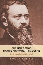 Inception of Modern Professional Education