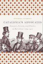 Catalonia's Advocates (Studies in Legal History Paperback)