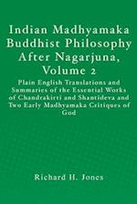 Indian Madhyamaka Buddhist Philosophy After Nagarjuna, Volume 2 af Richard H. Jones