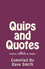 Quips and Quotes Vol. 3