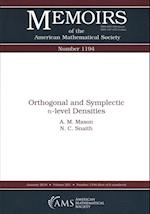 Orthogonal and Symplectic N-level Densities (Memoirs of the American Mathematical Society)