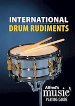 Alfred's Music Playing Cards -- International Drum Rudiments af Dave Black