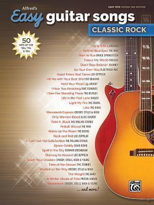 Alfred's Easy Guitar Songs -- Classic Rock