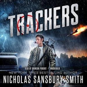 Lydbog, CD Trackers af Nicholas Sansbury Smith