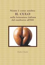 Niente e Come Sembra: Il Culo Nella Letteratura Italiana Dal Medioevo All'800 af Duilio Chiarle