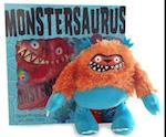 Monstersaurus Book and Toy af Claire Freedman