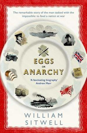 Bog, paperback Eggs or Anarchy af William Sitwell