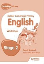 Hodder Cambridge Primary English: Work Book Stage 2