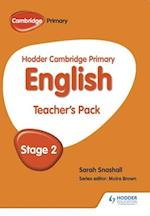 Hodder Cambridge Primary English: Teacher's Pack Stage 2