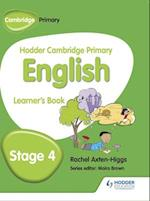 Hodder Cambridge Primary English: Learner's Book Stage 4 af Rachel Axten-Higgs