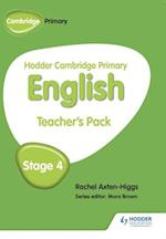Hodder Cambridge Primary English: Teacher's Pack Stage 4 af Rachel Axten-Higgs
