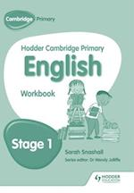 Hodder Cambridge Primary English: Work Book Stage 1