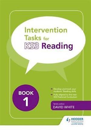 Bog, paperback Intervention Tasks for Reading Book 1 af David White