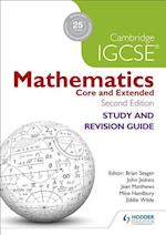 Cambridge IGCSE Mathematics Study and Revision Guide (Eurostars)