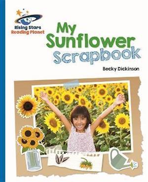 Reading Planet - My Sunflower Scrapbook - Blue: Galaxy