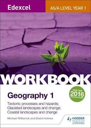 Bog, paperback Edexcel AS/A-level Geography Workbook 1: Tectonic processes and hazards; Glaciated landscapes and change; Coastal landscapes and change