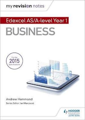 Bog, paperback My Revision Notes: Edexcel AS Business af Andrew Hammond