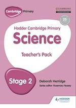 Hodder Cambridge Primary Science Teacher's Pack 2
