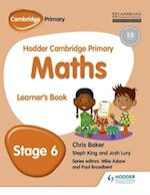 Hodder Cambridge Primary Maths Learner's Book 6 (Hodder Cambridge Primary Mathematics)