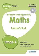 Hodder Cambridge Primary Maths Teacher's Pack 4