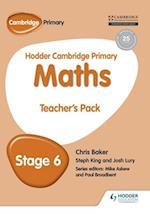 Hodder Cambridge Primary Maths Teacher's Pack 6 (Hodder Cambridge Primary Mathematics)