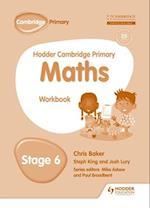 Hodder Cambridge Primary Maths Workbook 6 (Hodder Cambridge Primary Mathematics)