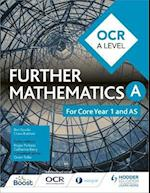 OCR A Level Further Mathematics Core Year 1 (AS) af Ben Sparks