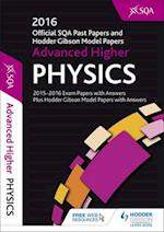 Advanced Higher Physics 2016-17 Sqa Past Papers with Answers