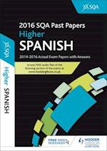 Higher Spanish 2016-17 Sqa Past Papers with Answershigher