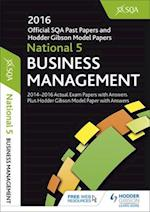 National 5 Business Management 2016-17 Sqa Past Papers with Answersnational 5