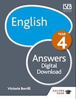 English Year 4 Answers