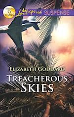 Treacherous Skies (Mills & Boon Love Inspired Suspense) af Elizabeth Goddard
