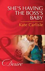 She's Having the Boss's Baby (Mills & Boon Desire)