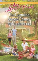 Lawman's Second Chance (Mills & Boon Love Inspired) (Kirkwood Lake, Book 1)