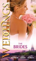 Weddings: the Brides: The Shy Bride / Bride in a Gilded Cage / The Bride's Awakening (Mills & Boon M&B)