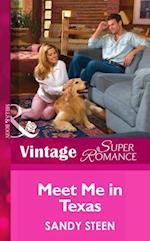 Meet Me In Texas (Mills & Boon Vintage Superromance) (Crystal Creek, Book 21) af Sandy Steen