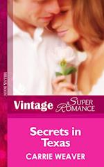 Secrets In Texas (Mills & Boon Vintage Superromance) (Count on a Cop, Book 30) af Carrie Weaver