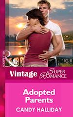 Adopted Parents (Mills & Boon Vintage Superromance) (Suddenly a Parent, Book 19)