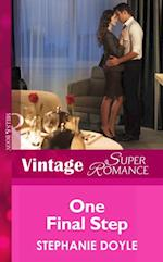 One Final Step (Mills & Boon Vintage Superromance)