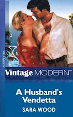 Husband's Vendetta (Mills & Boon Modern)